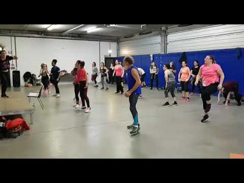 Song: Soprano - Le Coach Feat Vincenzo / ZUMBA FITNESS 2019 / CHOREGRAPHY Demoor Justine