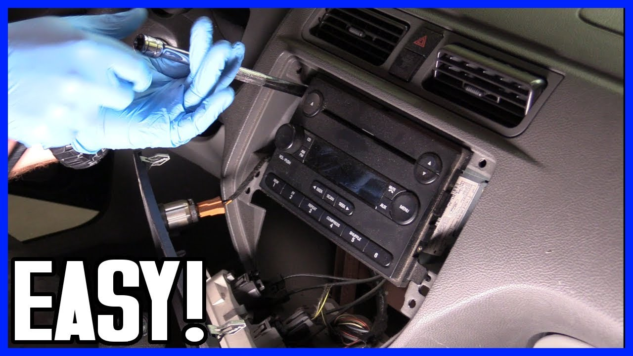 How To Install A Radio Head Unit Ford Focus 2000 2008 Youtube