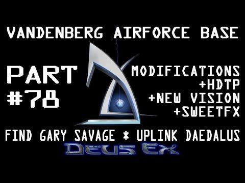 Deus Ex GOTY - Vandenberg Airforce Base - Control Room - Find Gary Savage - Uplink Daedalus