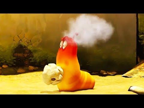 LARVA - POPCORN TREAT   Cartoon Movie   Cartoons For Children   Larva Cartoon   LARVA Official