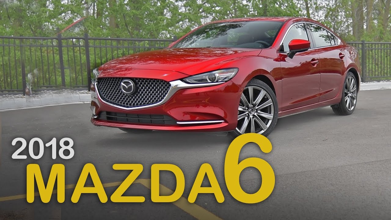 2018 Mazda6 Review Curbed With Craig Cole Mazda6 Turbo Review
