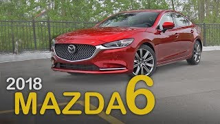 2018 Mazda6 Review: Curbed with Craig Cole | Mazda6 Turbo Review
