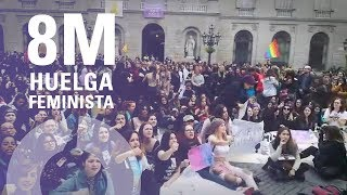 Manifestación feminista por las calles de Barcelona | 8M Huelga feminista