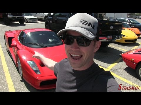 Flying my new Drone and I found a Ferrari Enzo!!