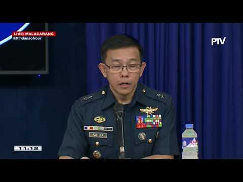 #MindanaoHour Press briefing sa Malacañang kaugnay ng updates sa mga kaganapan sa Marawi City