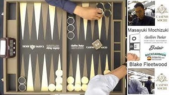 Backgammon World Series Sochi 2018 Undef Final   Blake Fleetwood v Masayuki Mochizuki