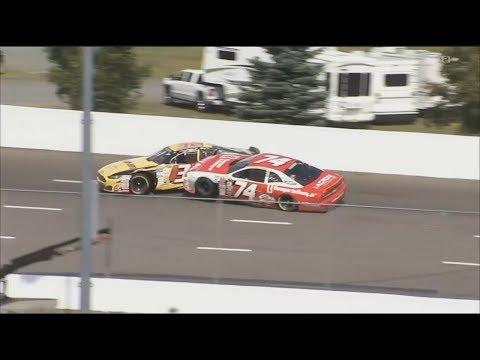 NASCAR Pinty's Series 2017. Riverside International Speedway. Last Laps