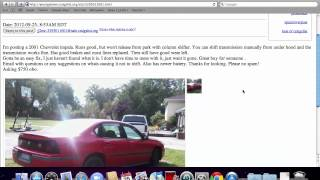 Craigslist Youngstown Ohio Used Cars and Trucks - For Sale by Owner Options Under $1500