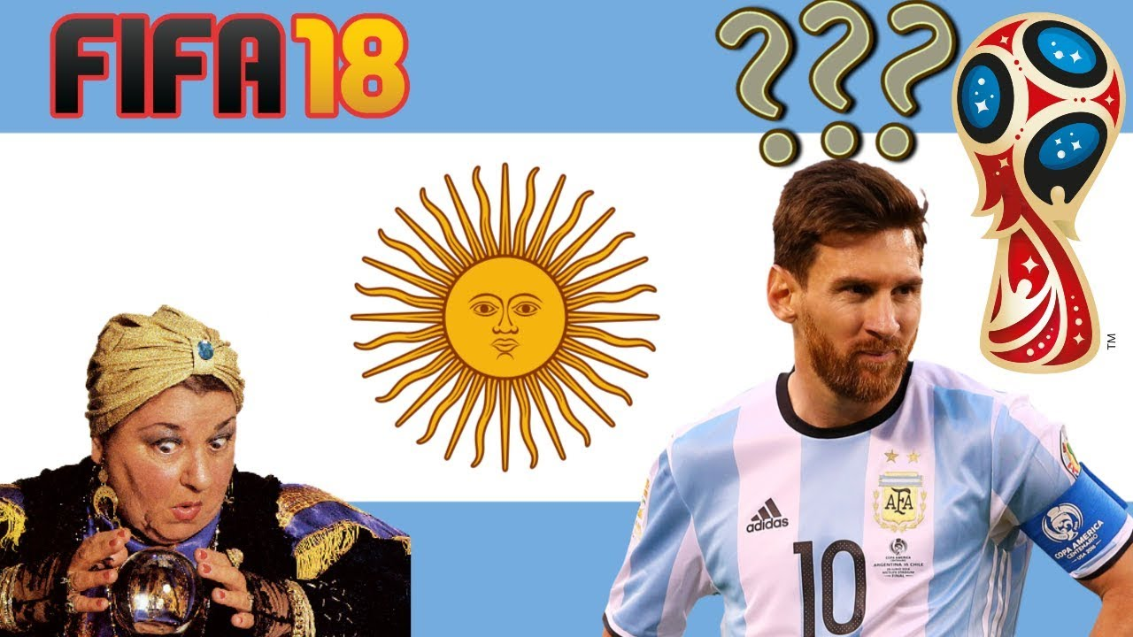 d825ce359f 🔴VIDENTE🔴 FIFA 18 PREVÊ DESTINO DA ARGENTINA NA COPA!  Grupos C   D