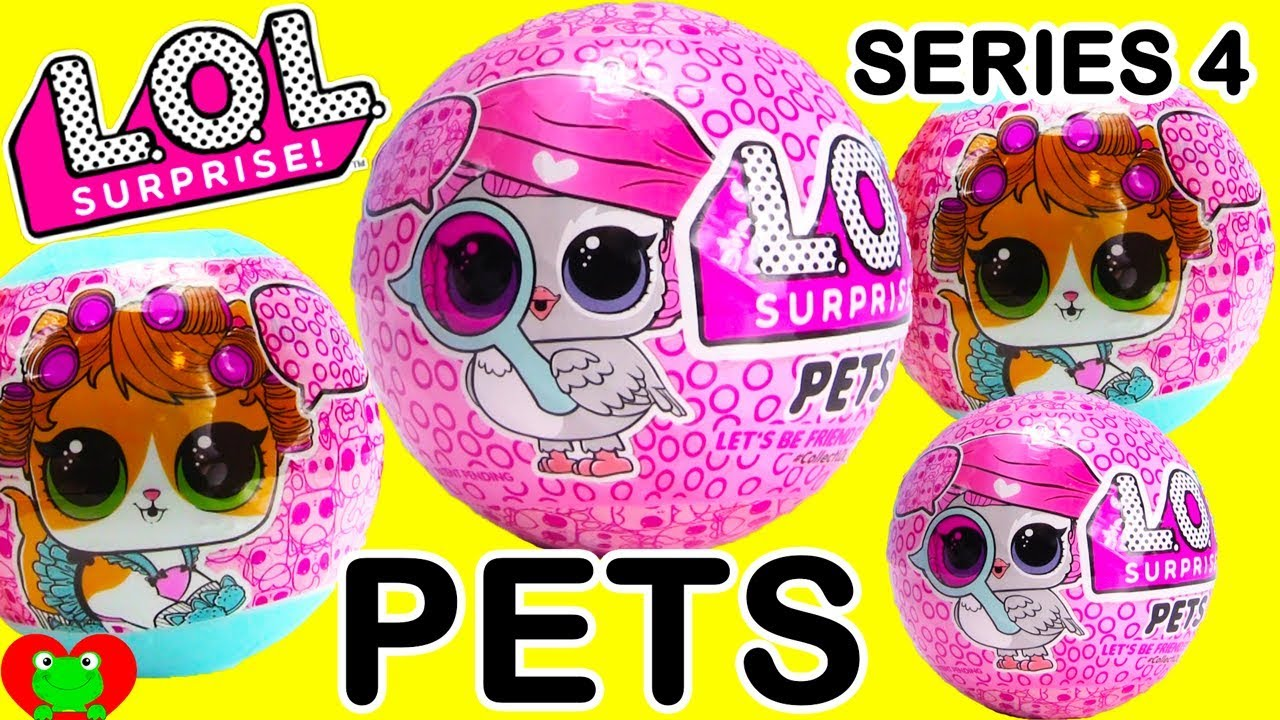 Lol Surprise Pets Series 4 Eye Spy Decoder Youtube