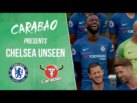 Rudiger & Hazard Loving Funny Team Photoshoot! 😂| Chelsea Unseen