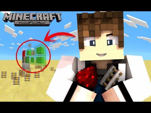 Minecraft Pocket Edition (Bug/Glitch) TRILHOS INFINITOS!!