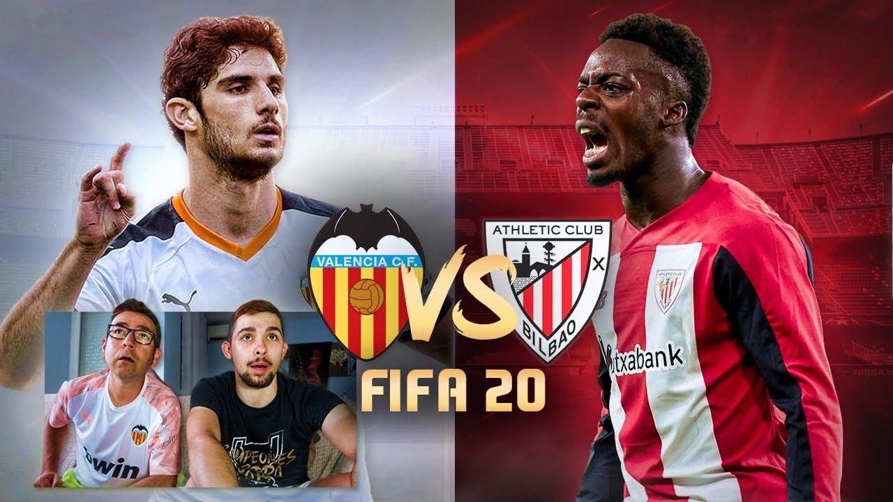 VALENCIA CF vs ATHLETIC CLUB de BILBAO Jornada 33 La Liga Santander | PREDICCIÓN FIFA 20