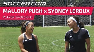 Player Spotlight: Mallory Pugh and Sydney Leroux