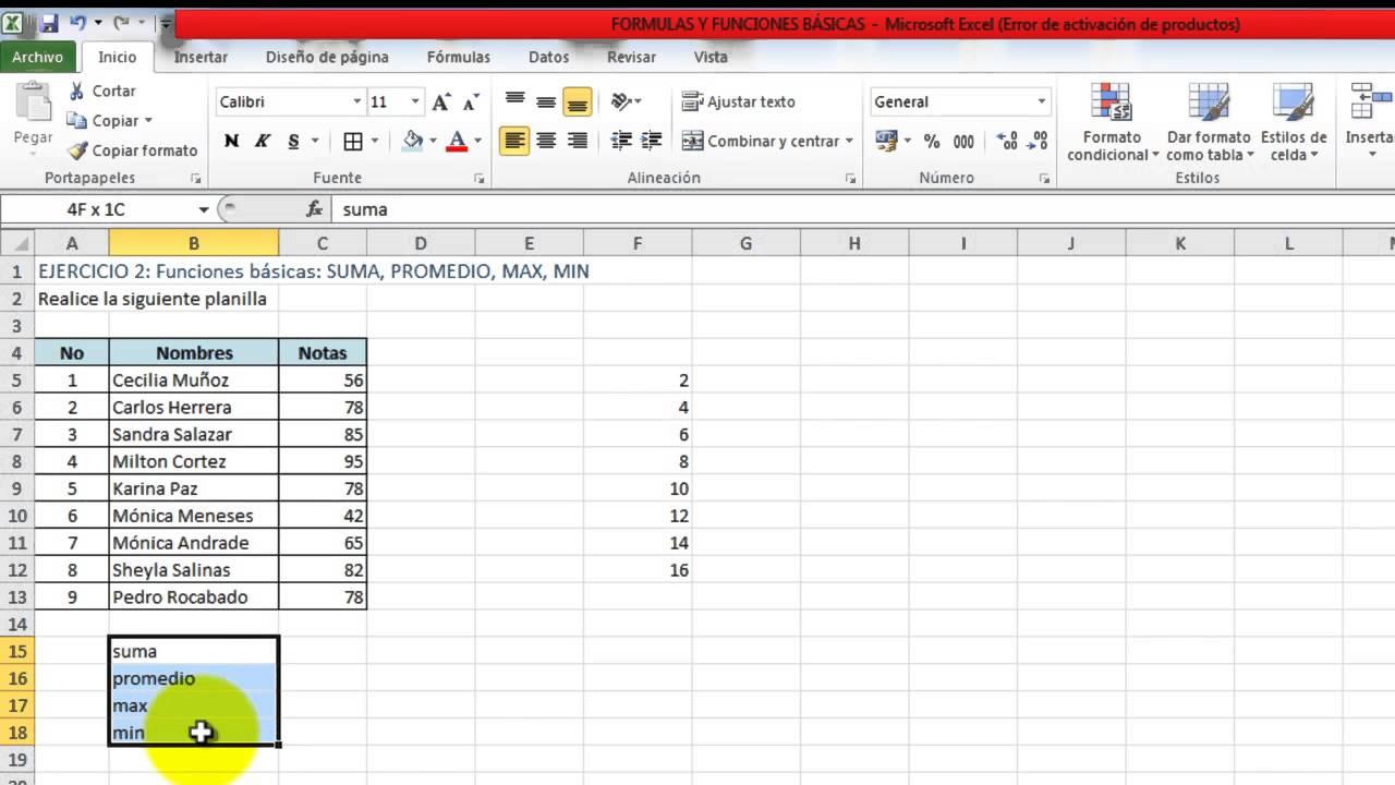 Overview of formulas in Excel - Excel