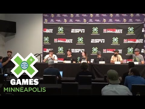 [FULL] Official athlete kick-off press conference | X Games Minneapolis 2018