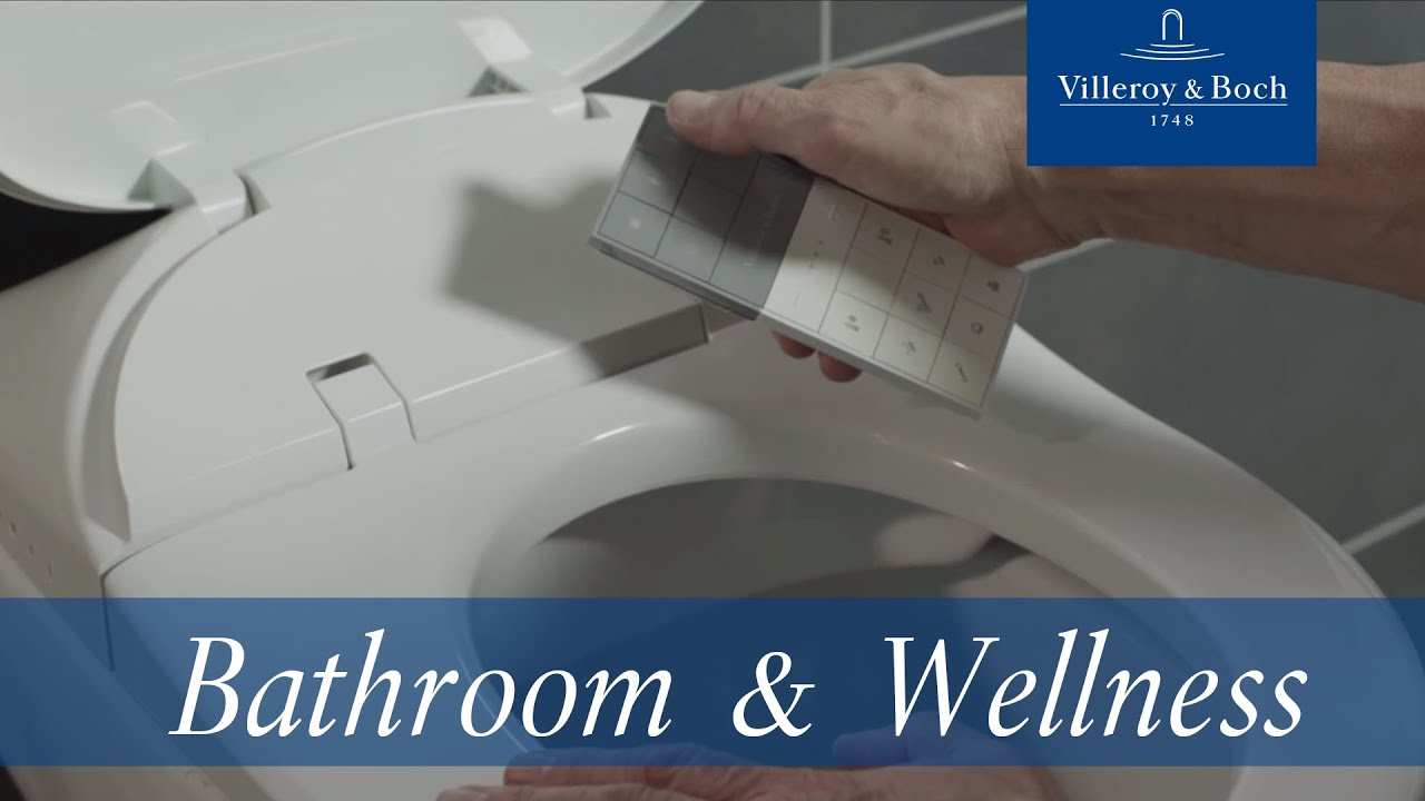 how to install viclean l villeroy boch youtube. Black Bedroom Furniture Sets. Home Design Ideas