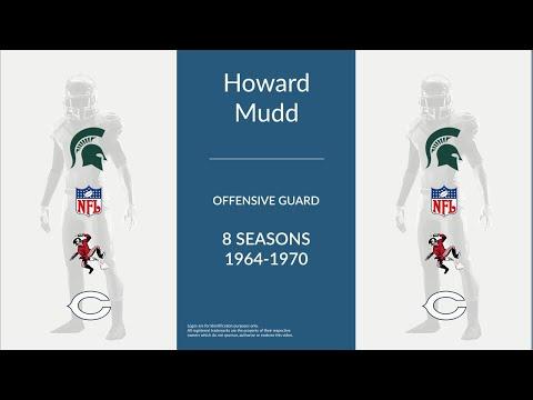 Howard Mudd: Football Offensive Guard