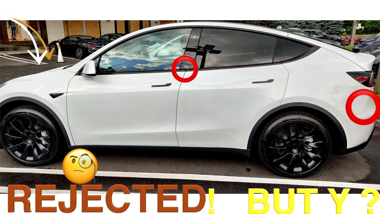 Tesla Model Y Touchless Delivery Rejected