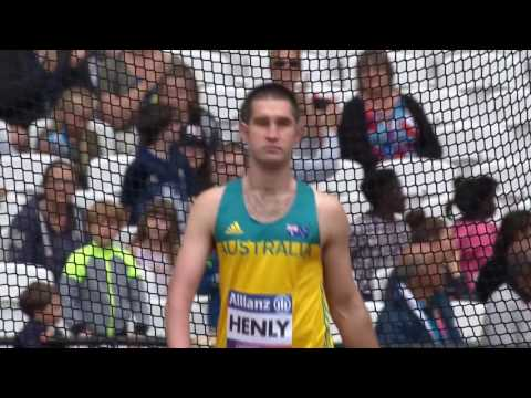 Guy Henly | Silver – Men's Discus F37 Final | London 2017 World Para Athletics Championships