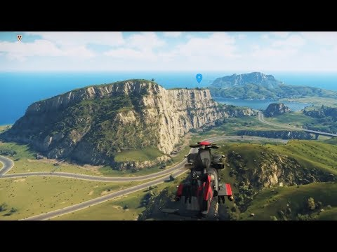 HOW BIG IS THE MAP In Just Cause 4? Fly Across The Map