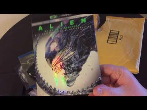 Alien: 40th Anniversary 4K unboxing/unpackaging