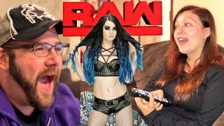 HEEL WIFE WANTS PAIGE ON WWE RAW SHES WATCHING AND WAITING! MUST SEE REACTIONS!