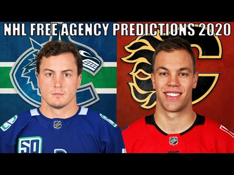 Early Nhl Free Agency Predictions 2020 Top 25 Ufa Landing Spots Youtube