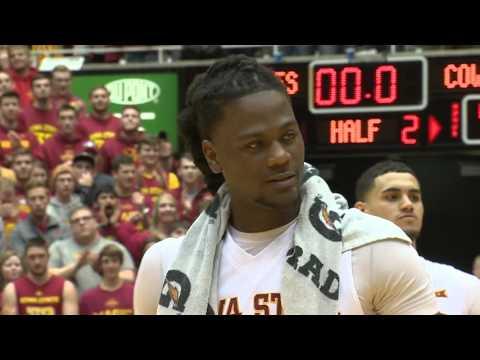 Iowa State Men's Basketball Post-Game Senior Speeches