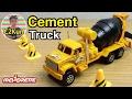 รีวิวรถเหล็กมาจอเร็ต รถโม่ปูนคันใหญ่|Majorette Cement truck|C2Kun
