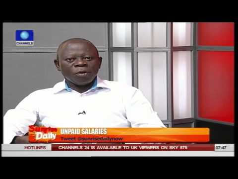 Oshiomhole Blames Ministry Of Petroleum And Finance For Owed Salaries PT1    01/07/15