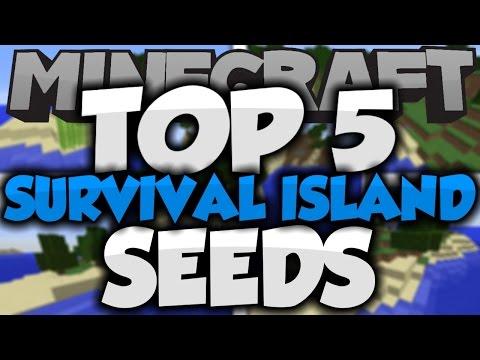 Top 5 Minecraft Survival Island Seeds! - Best Minecraft Seeds 1.8