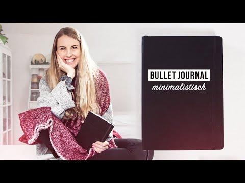 MINIMALISMUS BULLET JOURNAL SETUP 2020 | Deutsch