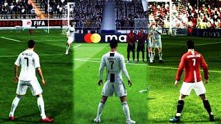 Free Kicks From FIFA 94 to 19