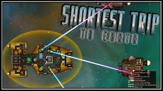 Star Trek meets Faster Than Light! (FTL) - Shortest Trip To Earth Gameplay