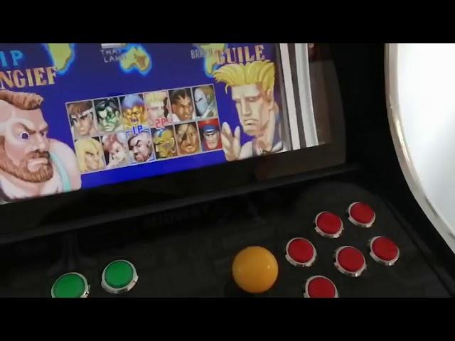 Vidéo Bartop customisé au look Arcade