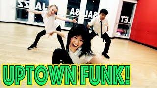 UPTOWN FUNK - Bruno Mars Dance | @MattSteffanina Choreography ft TAYLOR KEN & BAILEY!