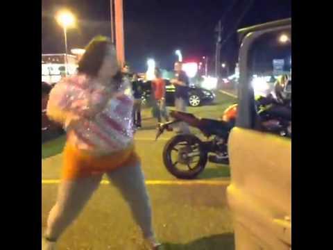 Big girl gone wild