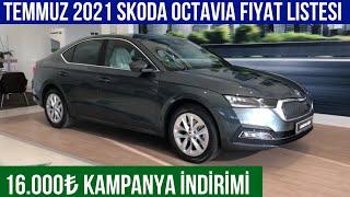 Temmuz 2021 Skoda Octavia Fiyat Listesi