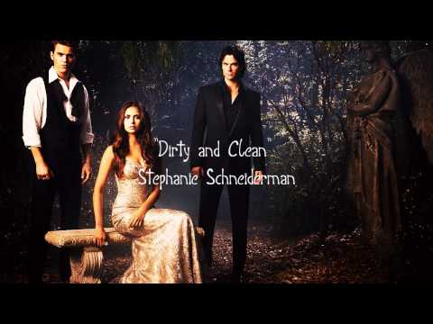 "The Vampire Diaries 4x07 Promo song - ""Dirty and Clean"" by Stephanie Schneiderman (Lyrics)"