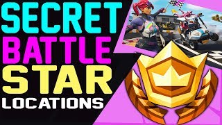 Fortnite SECRET HIDDEN BATTLE STAR LOCATION WEEK 3 SEASON 5 - Road Trip Challenges