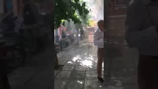 Συμβαίνει τώρα: Πυρκαγιά στην Δ΄ ΔΟΥ Αθηνών στα Εξάρχεια