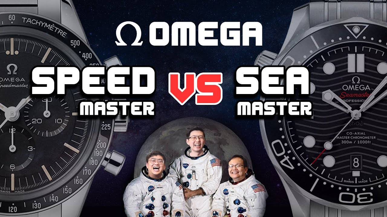 omega speedmaster กับ seamaster เล่นตัวไหนดี น่าเล่นไหม? | U here Here