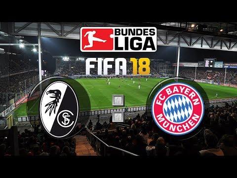 FIFA 18 Bundesliga Sport-Club Freiburg : FC Bayern München | Gameplay Deutsch Livestream