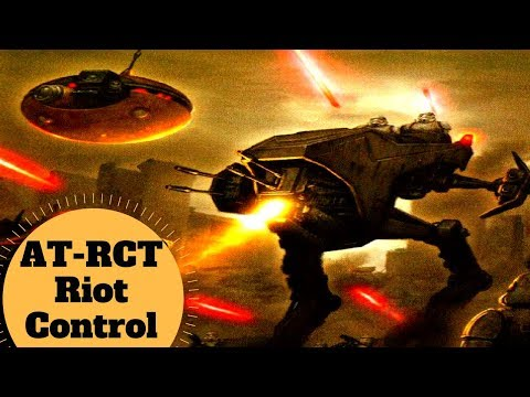 The Riot Control Walker - AT-RCT - All Terrain Riot Control Walker - Star Wars Walkers Explained