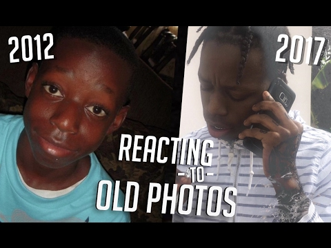 REACTING TO OLD PHOTOS!!! (EXTREMELY CRINGEY)