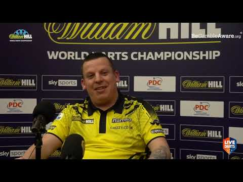 "Dave Chisnall on beating Van den Bergh: ""He got to me a bit, walking all the way to the studio"""
