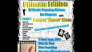 Hypno Ten Basic Popping Moves For Anyone DVD