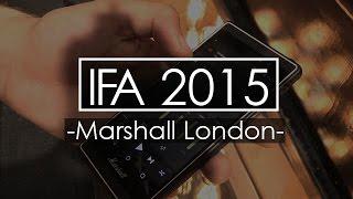 Marshall London - muzyczny smartfon - IFA 2015