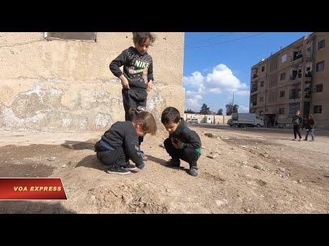 Dân Syria không dám về nhà nếu quân chính phủ chiến thắng (VOA)